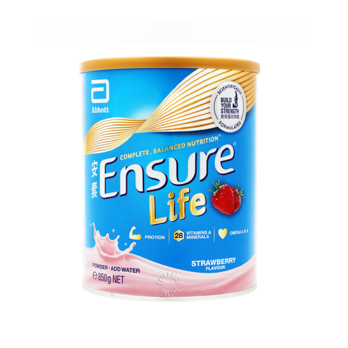 Ensure Life Powder 850g (Strawberry)